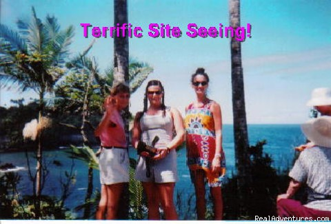 Site seeing along the Honolii coast - Aloha Healing Retreats