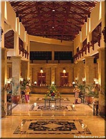 Grand Mirage Hotel Lobby - Discounted Bali Bed & Breakfasts, Hotels & Resorts