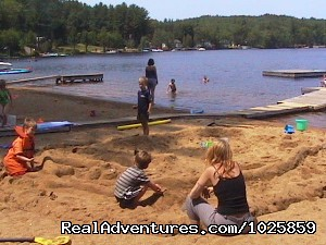 Fun in the sand. (#22 of 26) - Relaxing, Lakeside Getaway for the Family