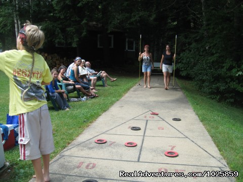 Shuffleboard is a big favorite. (#19 of 26) - Relaxing, Lakeside Getaway for the Family