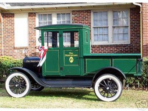 1922 Model T Ford Truck - The Statesman Guest House Inn & Restaurant