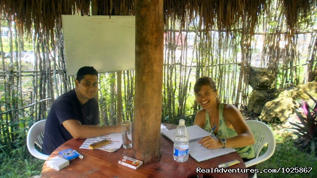 Private and Peer Group Spanish classes in Tulum - Instituto Chac-Mool Spanish School