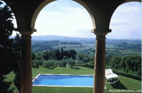 Photo #4 - Castello di Pastine weekly rentals in TUSCANY