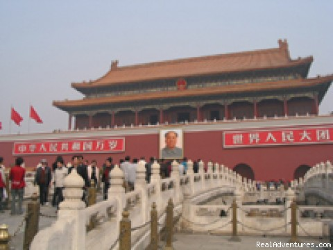 Forbidden City in Beijing - China and the Yangtze River