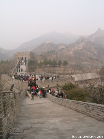 China and the Yangtze River: The Great Wall in Beijing