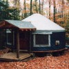 Falls Brook Yurt Rentals in the Adirondacks Vacation Rentals Minerva, New York