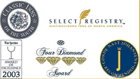 AAA Four-Diamond for 12 Years - 1906 Pine Crest Inn & Restaurant