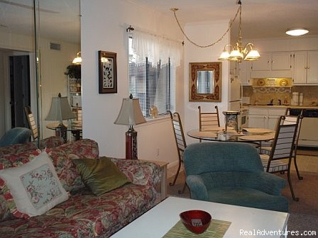 Living/ Dining Area (#8 of 21) - ATTENTION: Beach, Tennis,&Golf Lovers