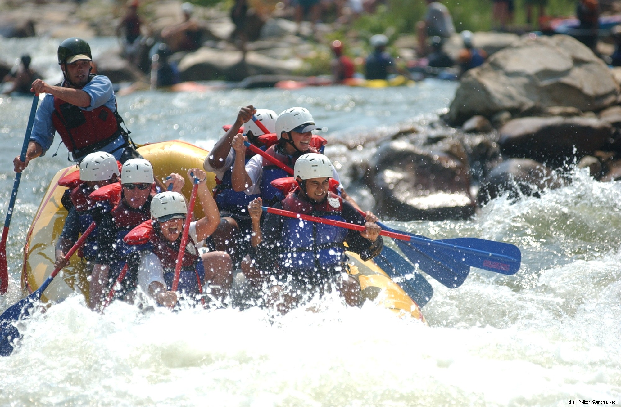 Humongous, Ocoee River | Image #2/16 | Premium half and full day Ocoee rafting adventures