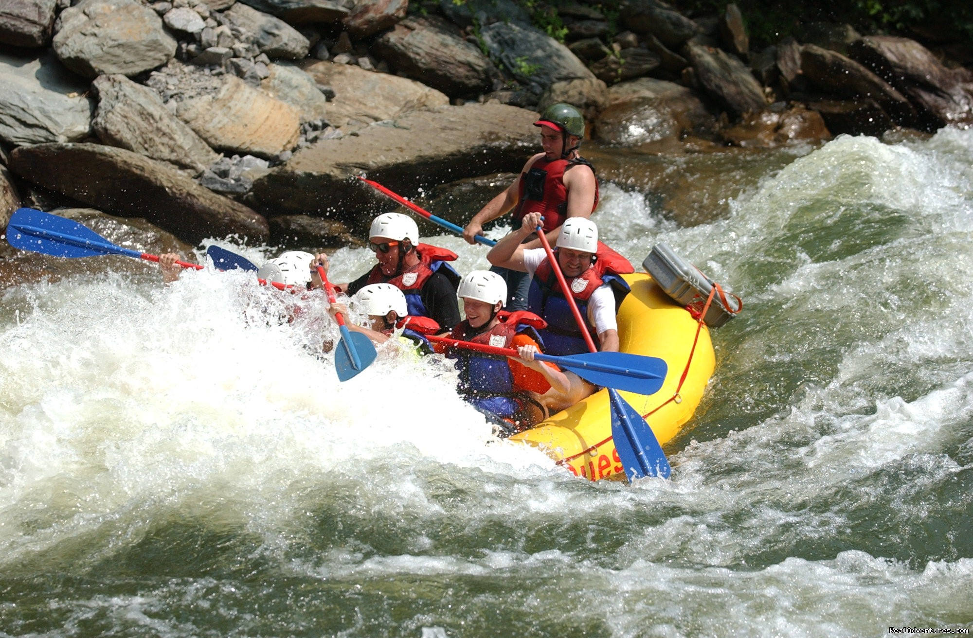 Hell's Hole, Ocoee River | Image #8/16 | Premium half and full day Ocoee rafting adventures