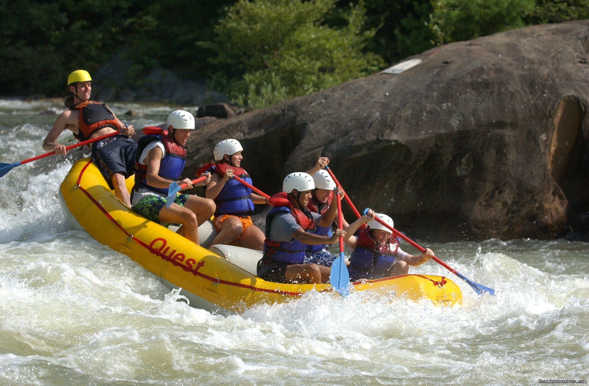 Double Suck, Ocoee River | Image #9/16 | Premium half and full day Ocoee rafting adventures