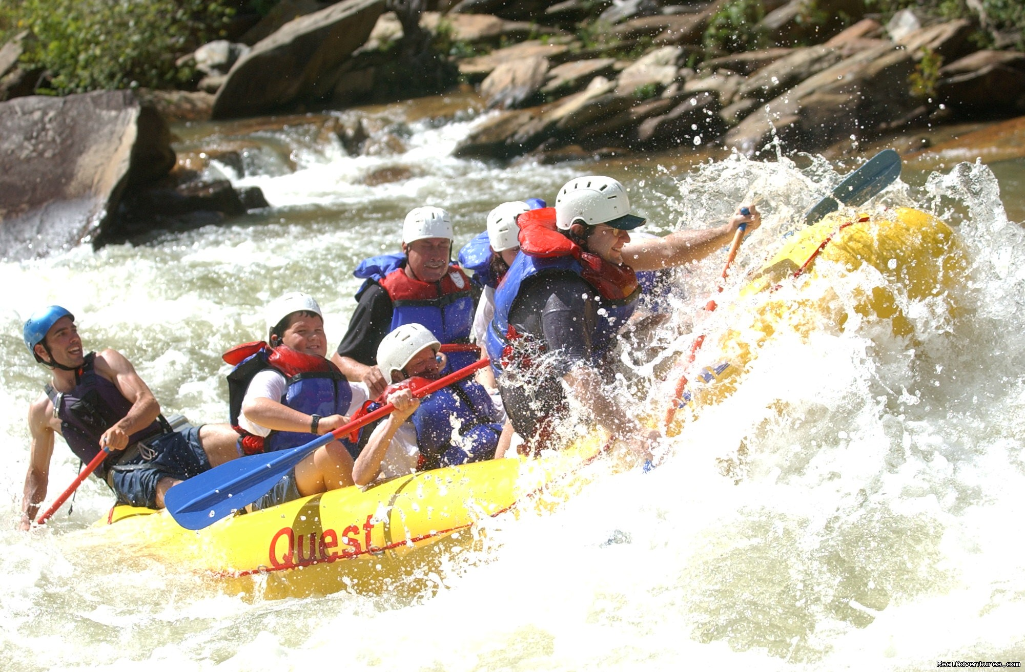 Double Trouble, Ocoee River | Image #10/16 | Premium half and full day Ocoee rafting adventures