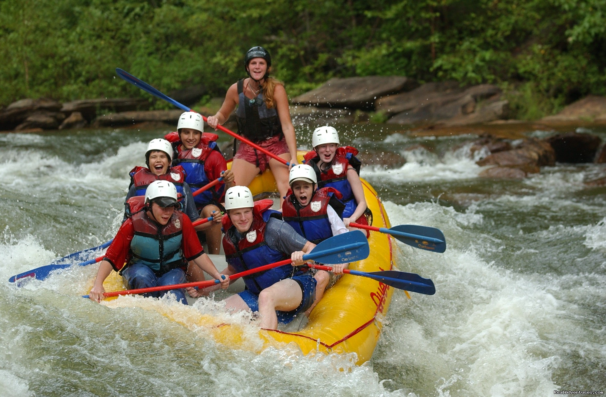 Double Trouble, Ocoee River | Image #15/16 | Premium half and full day Ocoee rafting adventures