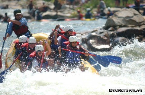 Premium half and full day Ocoee rafting adventures Humongous, Ocoee River