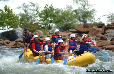 Premium half and full day Ocoee rafting adventures Grumpy's, Ocoee River