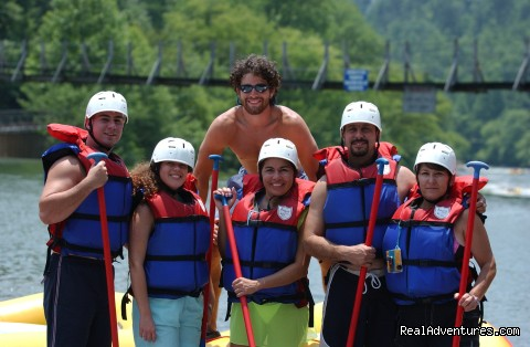 Premium half and full day Ocoee rafting adventures Ready to Raft!