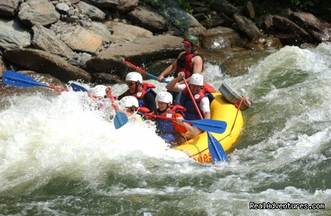 Hell's Hole, Ocoee River - Premium half and full day Ocoee rafting adventures