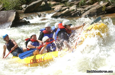 Double Trouble, Ocoee River - Premium half and full day Ocoee rafting adventures