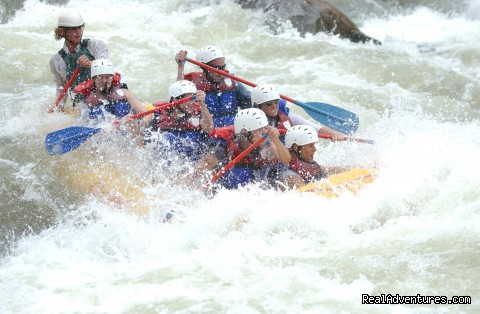 Humongous, Ocoee River - Premium half and full day Ocoee rafting adventures
