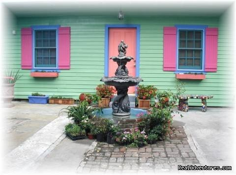 A View of the Courtyard Fountain | Image #1/8 | New Orleans, Louisiana  | Bed & Breakfasts | Simply the Best Place to Stay in New Orleans
