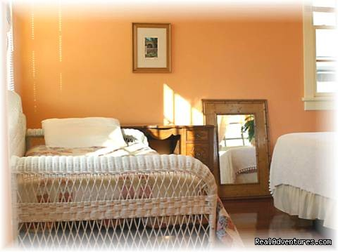 One of Our Festive Cottage Rooms - Simply the Best Place to Stay in New Orleans