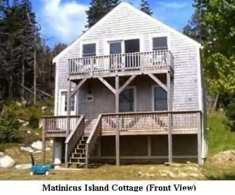 Image #8 of 10 - Matinicus Island Oceanfront Getaway Cottage