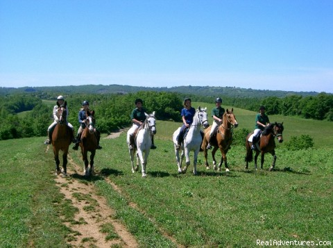 horseriding - Magical excursions at  S. Cristina Castle ,Italy