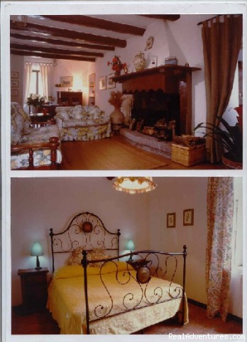 inside accommodations - Magical excursions at  S. Cristina Castle ,Italy