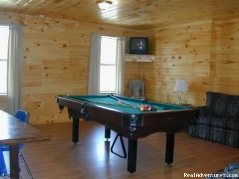 Nature's Haven Log Cabin - Gameroom, Views, Hottub