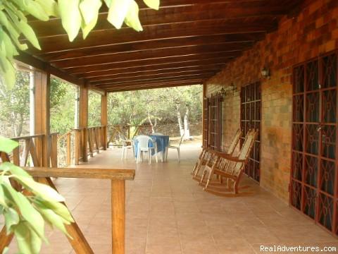 front veranda - Estrella de Paraiso Private Nature Reserve