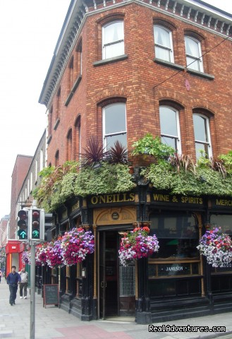 - Stay at O'Neill's Traditional Old Dublin Pub