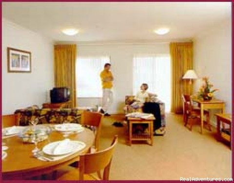 Lounge & dining areas - Sydney Furnished and Serviced Apartments