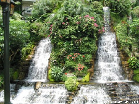 Gaylord Opryland offers guests a unique vacation Waterfalls in Cascades Atrium