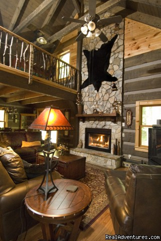The perfect mountain getaway (Waters Edge) (#18 of 19) - Creekside luxury log cabins in the Smokies