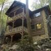 Creekside luxury log cabins in the Smokies Three-bedroom log cabin (Slippery Rock)