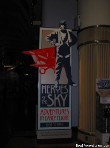 History of Flight Exhibit - Detroit is a great place for a family vacation