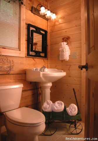 Image #6/10 | Hidden Falls Cabin-romantic and Secluded