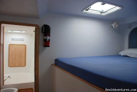 Front Starboard Side Room  - Yacht & Cruise Ship Agency in Maldives