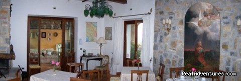- B&B set among olive trees and flowers