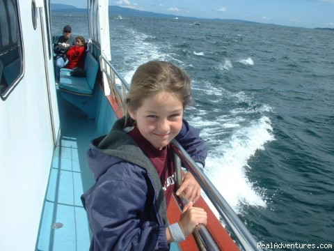 whale watching experience - Eco Tours w/ Western Prince Whale & Wildlife Tours