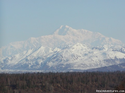 Denali (the great one) - Alaska Backcountry Bike Tours