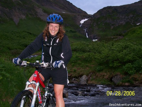 Upper Palmer Creek, Kenai Peninsula (#6 of 9) - Alaska Backcountry Bike Tours