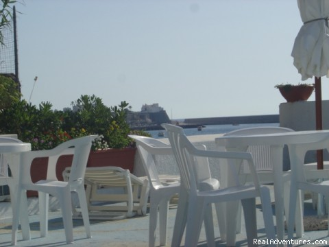 the terrace - Ring Hostel  On Island Ischia