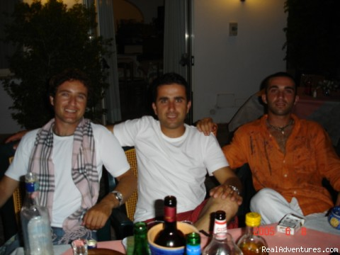 The Bros - Ring Hostel  On Island Ischia
