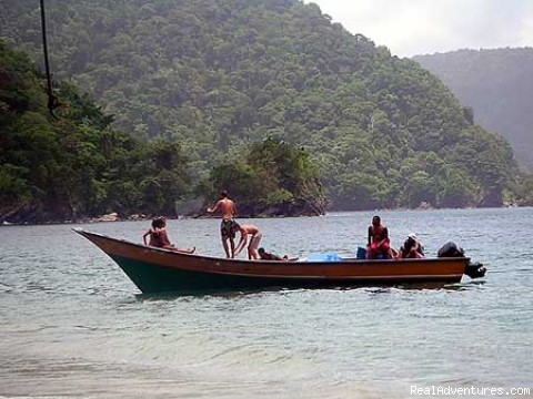 Unspoiled coast of the Paria Peninsula - New Frontiers adventures and ecotours in Venezuela