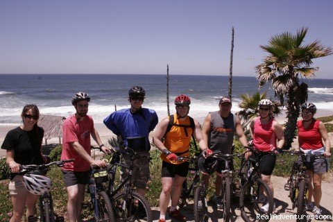 Hike Bike Kayak Sports, Inc. Group on our La Jolla Plunge bike tour