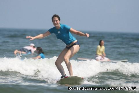 Surf Lessons for Women (#1 of 23) - Surf Goddess - Surf, Yoga & Spa Retreats for Women