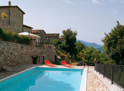Residence Vallemela: a charming mountain retreat!: Swimming pool