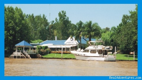 El Gato Blanco restaurant -  Buenos Aires Tigre Delta islands unforgettable