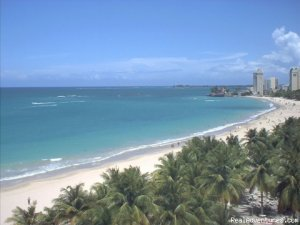 Best Beach Area in Isla Verde Beach Area, San Juan Carolina, Puerto Rico Vacation Rentals